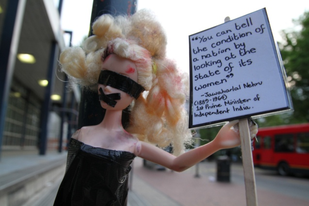 craftivist collective on Gender Inequality